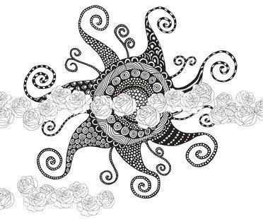 Sonnen-Tattoo Vorlagen