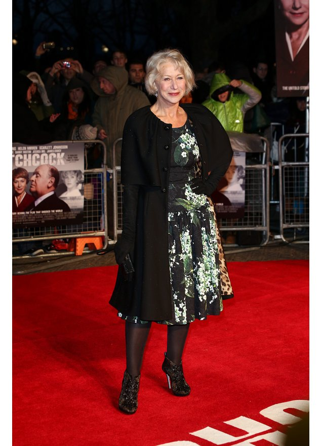 """Helen Mirren bei der Premiere von """"Hitchcock"""" in London."""