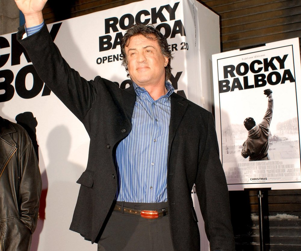 Sylvester Stallone ist Rocky Balboa