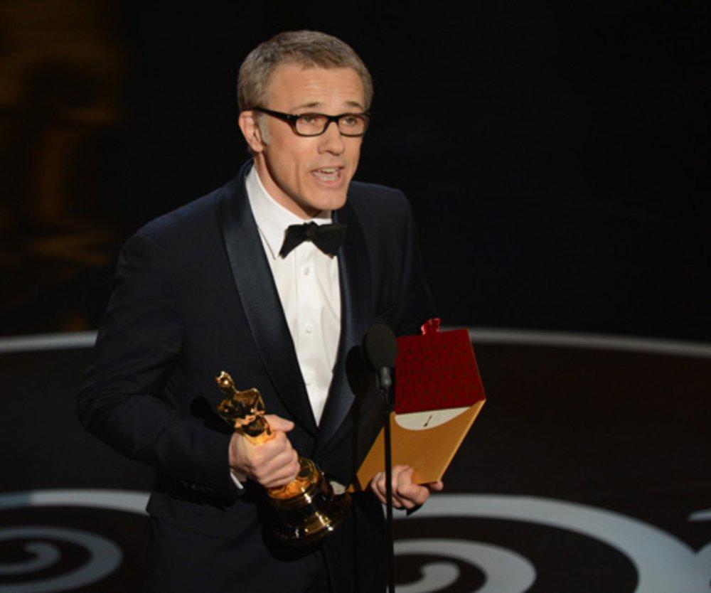 """Christoph Waltz hat für seine Rolle in dem Tarantino-Film """"Django Unchained"""" den Oscar als """"Bester Nebendarsteller"""" erhalten."""