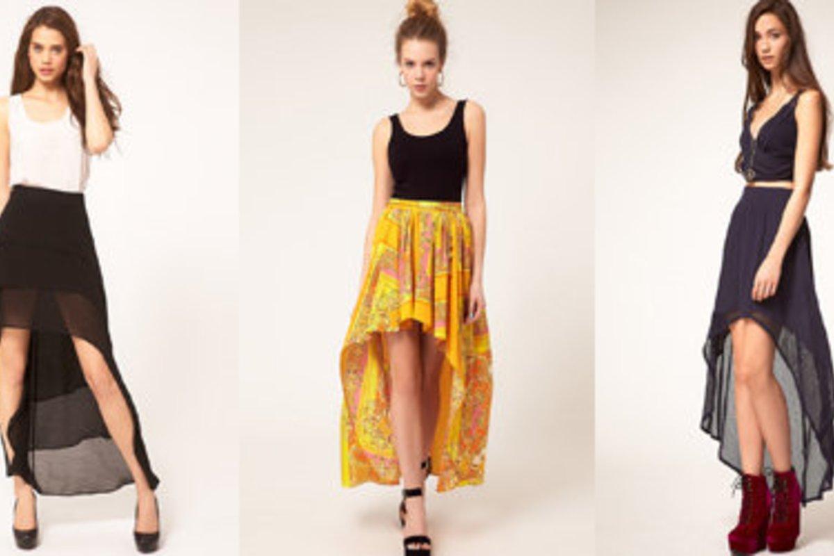 kleider und röcke: vorne kurz, hinten lang | desired.de
