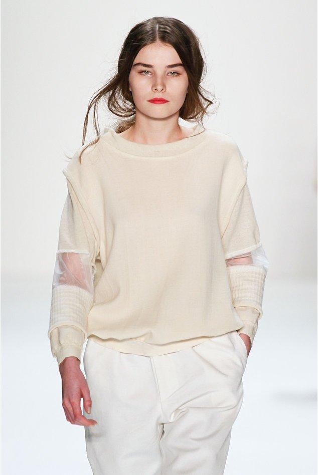 Vladimir Karaleev ist auch bei dieser Berlin Fashion Week wieder dabei