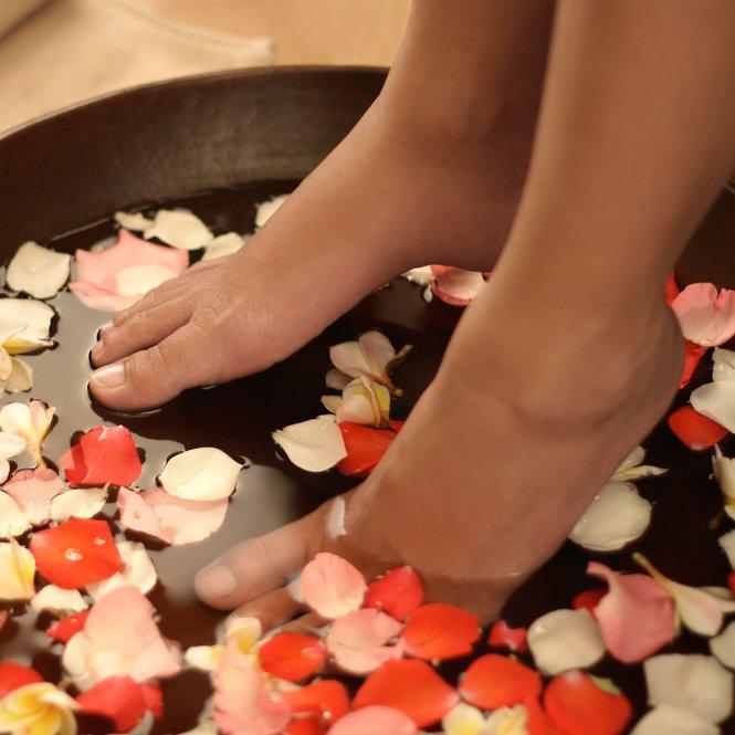 Fußbad selber machen