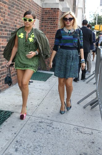 Miroslava Duma in New York