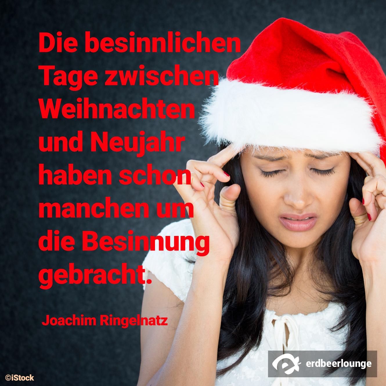 Weihnachten 3 - besinnliche Tage Ringelnatz