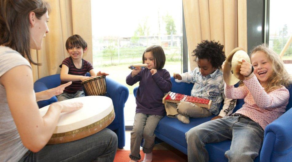 Klanggeschichten im Kindergarten