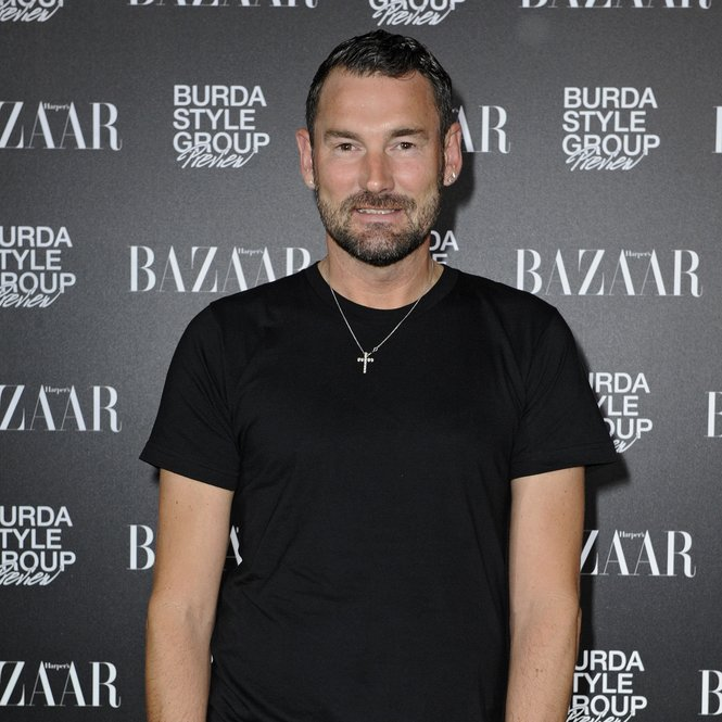 BERLIN, GERMANY - JULY 04: Michael Michalsky attends Burda Style Group Preview - Harper's Bazaar pre launch party during the Mercedes-Benz Fashion Week Spring/Summer 2014 on July 4, 2013 in Berlin, Germany. (Photo by Clemens Bilan/Getty Images For Hubert Burda Media)