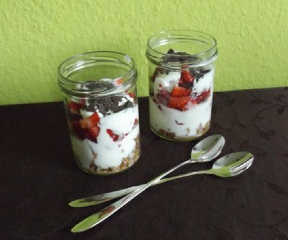 Erdbeer-Joghurt Triffle