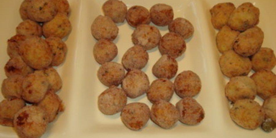 Knusprige Kartoffelbällchen
