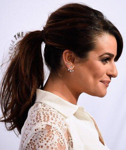 Lea Michele: Ponytail mit Tolle