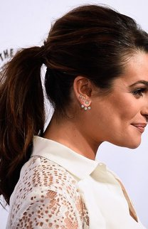 Lea Michele: Ponytail mit Tolle