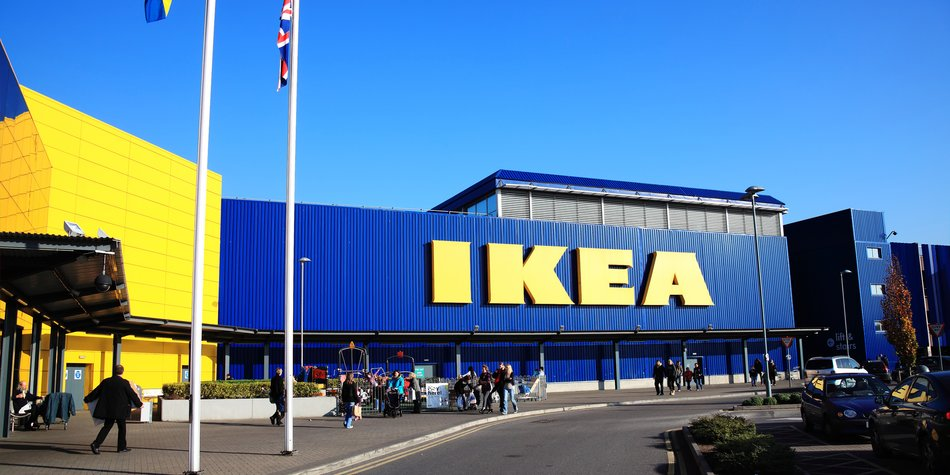 London, UK – November 19, 2011: Ikea furniture retail store in Brent Park Wembley