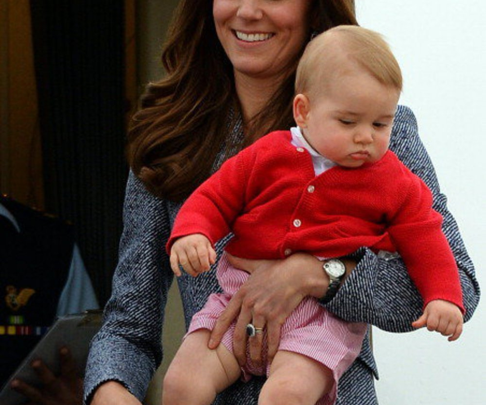 Kate Middleton: Prinz George hat in Australien zugelegt