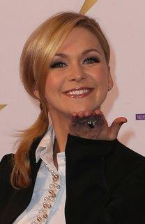 Helene Fischer: Frisur mit seitlichem Zopf