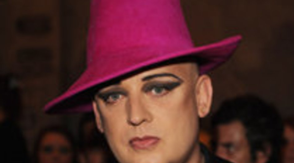 Boy George: Reality TV-Verbot