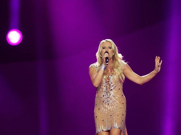 Eurovision Song Contest-Teilnehmerin Natale Horler von Cascada