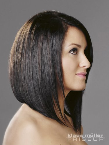 Long Bob im Sleek Look