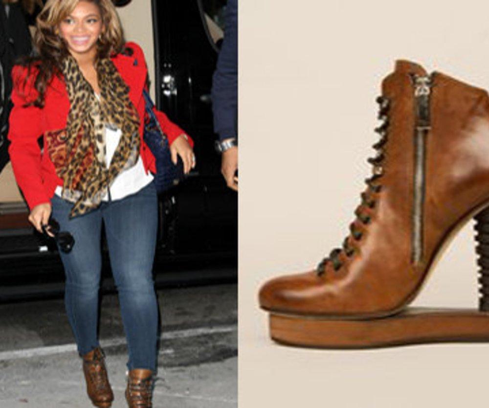 Beyoncé trägt Killer-Heels