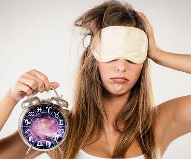 Sternzeichen Schlafenszeit