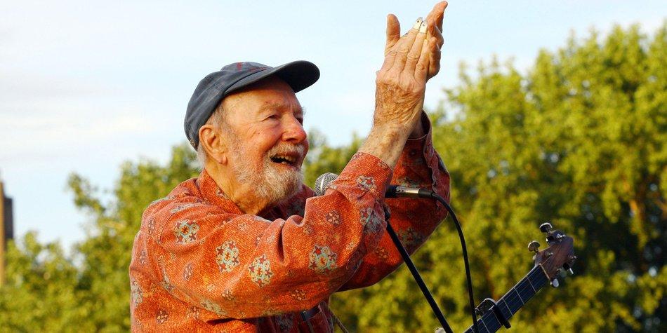 Pete Seeger ist mit 94 Jahren gestorben