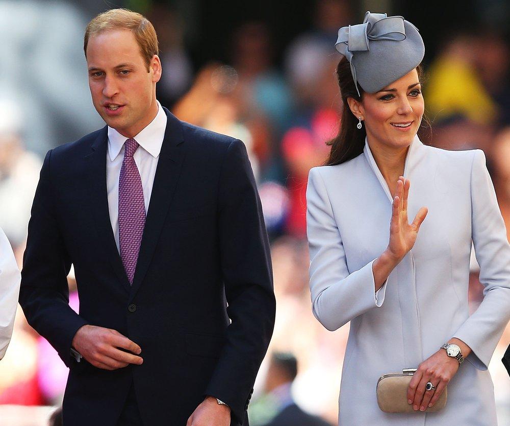 Kate Middleton und Prinz William wandeln auf Dianas Spuren