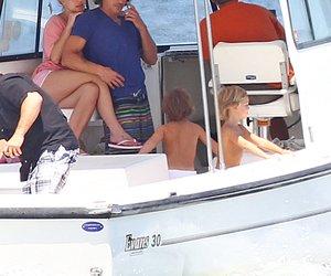 Britney Spears auf hoher See