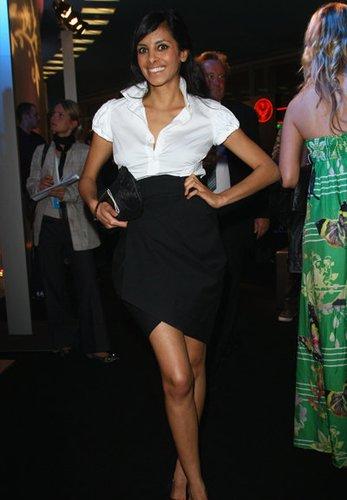Schauspielerin Collien Fernandes moderiert beim MTV
