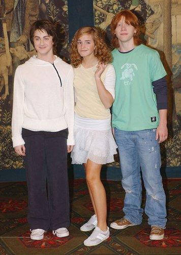 Daniel, Emma und Rupert 2004