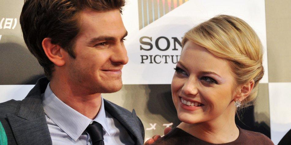 Sind Emma Stone und Andrew Garfield verlobt?