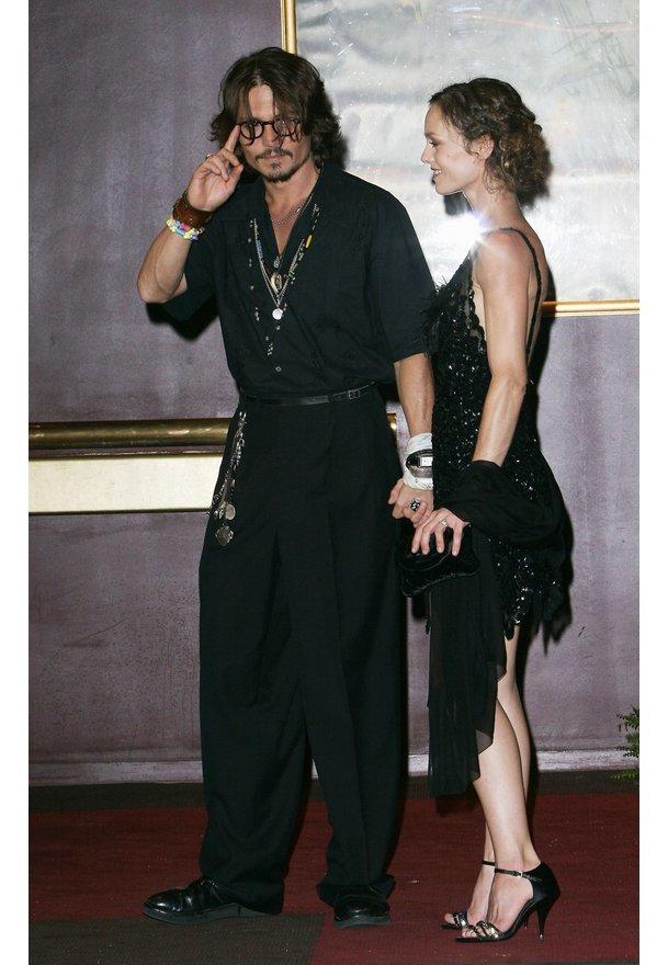 Johnny Depp als alles noch gut war