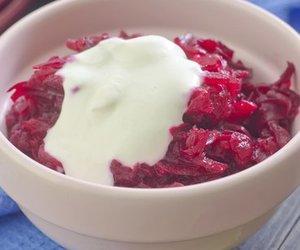 Rote Bete Salat mit Meerrettich