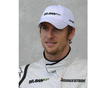 Jenson Button fährt in der Formel 1