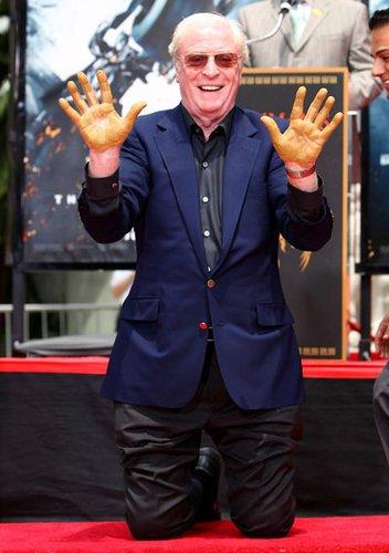 Schauspieler Michael Caine