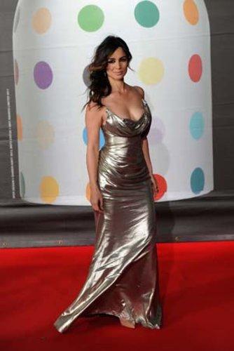Das ehemalige Bond-Girl Berenice Marlohe war ein Blickfang bei den Brit Awards 2013.