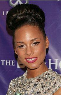 Alicia Keys: Großer Dutt