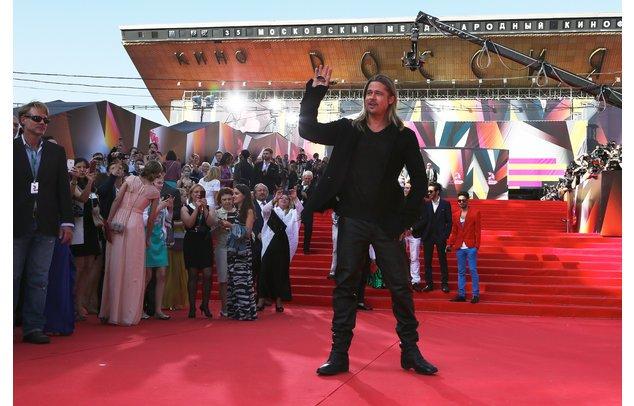 Brad Pitt auf dem roten Teppich