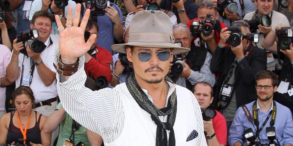 Johnny Depp in der Oper