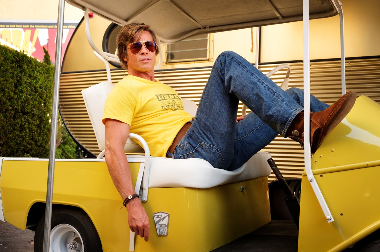 Brad PItt Cliff Booth Once upon a time in Hollywood