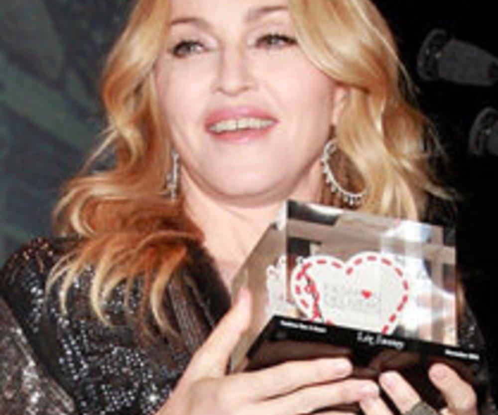 Madonna überreicht Fashion-Award