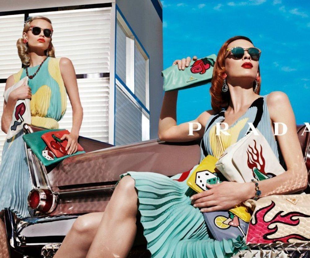 Prada sorgt für Sommer, Sonne und Spaß