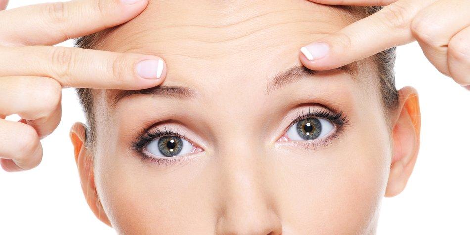 Unreine Haut Gesicht Face-Mapping