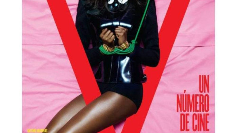 Naomi Campbell in Fesseln