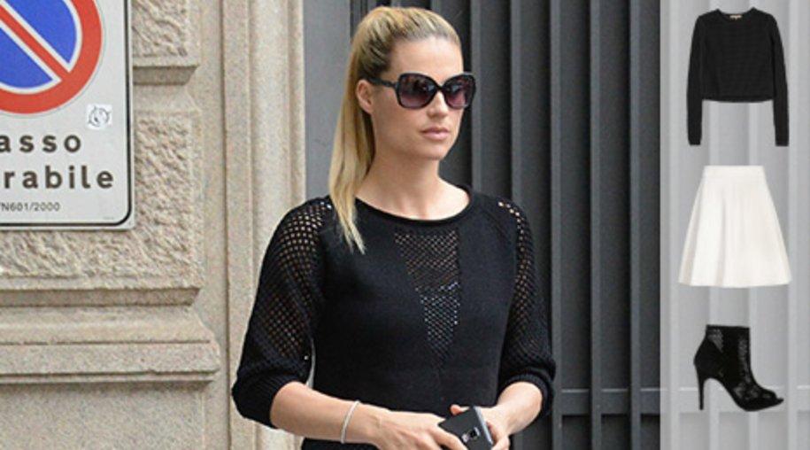 Best dressed: Michelle Hunziker