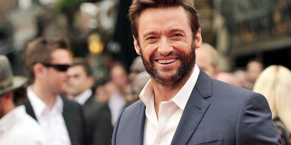 Hugh Jackman: Wolverine ist sein Ventil