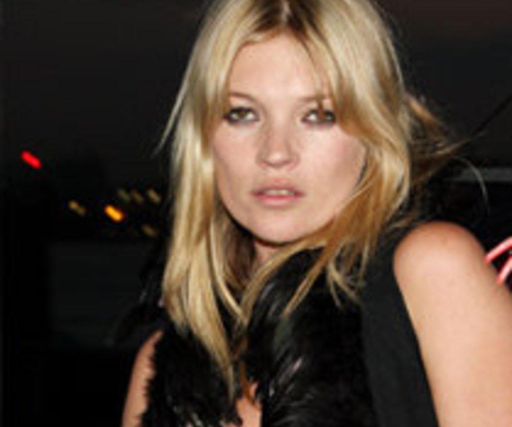 Kate Moss: Langeweile an Silvester