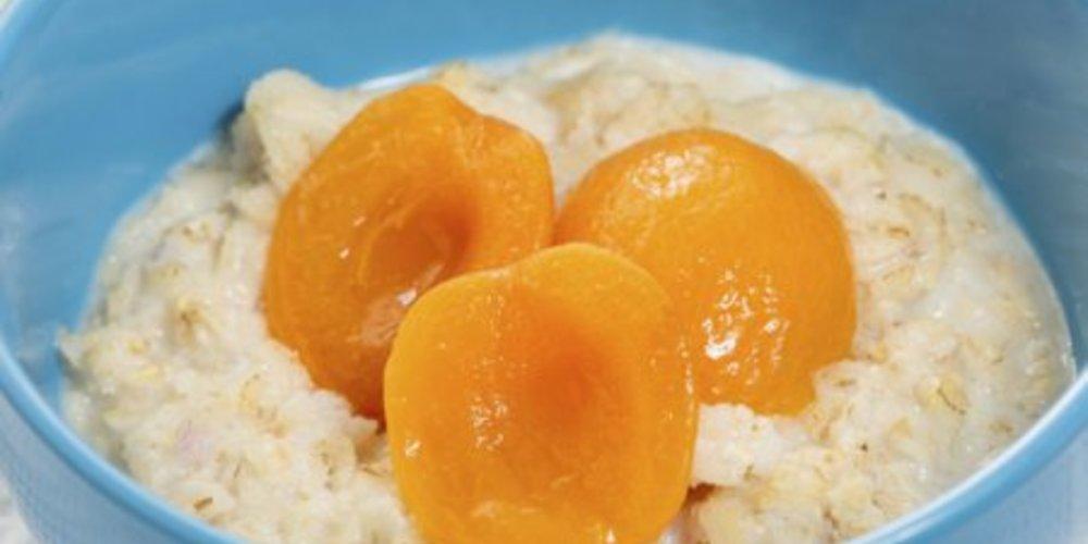 Porridge mit Wasser