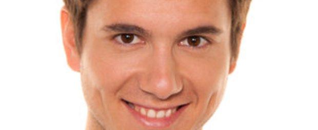 mit den Augen lächeln