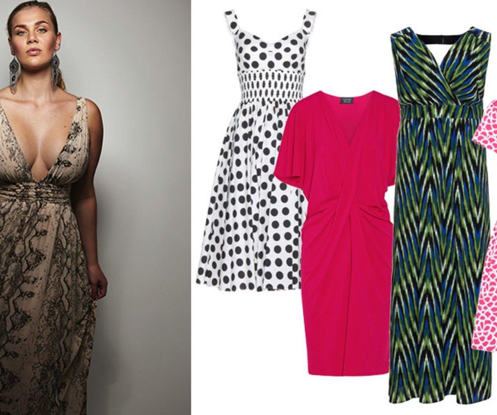 10 Sommerliche Kleider Für Eine Grosse Oberweite Desiredde