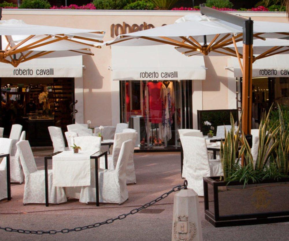 Cavalli Café in St. Tropez