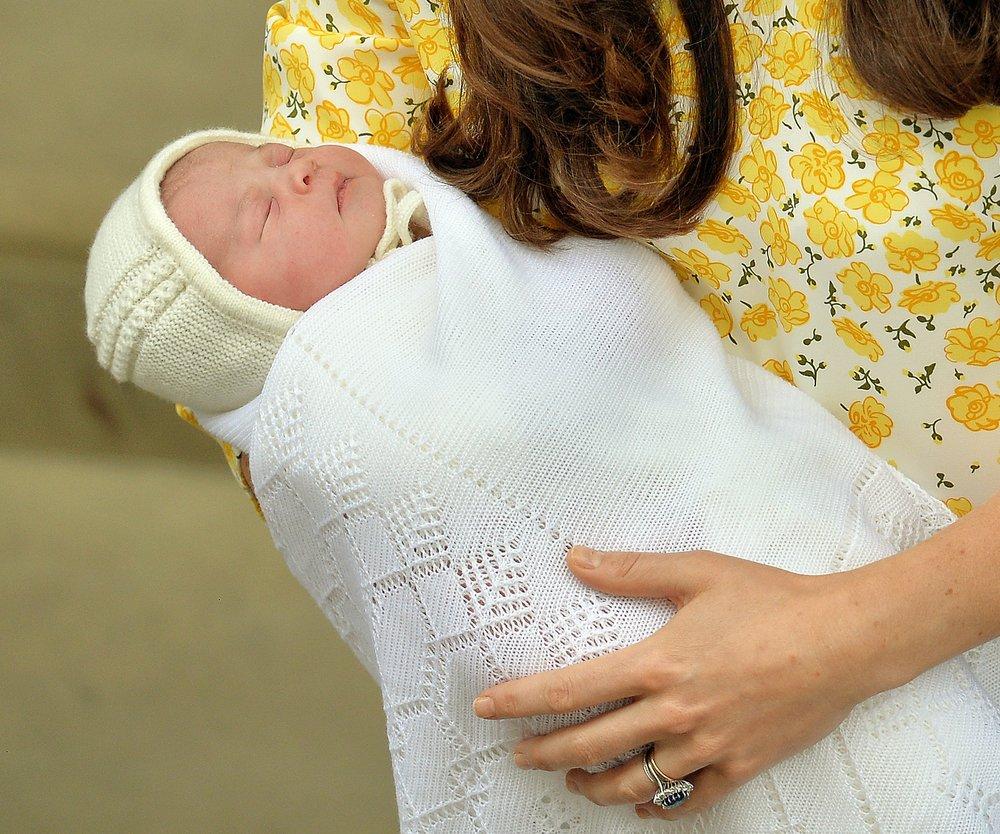 Prinzessin Charlotte: Hallo, Onkel Harry!
